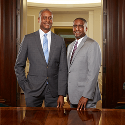 President Raphael Bostic and First Vice President Andre Anderson, both of the Atlanta Fed